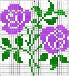 Cross Stitch Cards, Cross Stitch Borders, Cross Stitch Rose, Simple Cross Stitch, Modern Cross Stitch Patterns, Cross Stitch Flowers, Cross Stitch Designs, Cross Stitching, Cross Stitch Embroidery