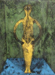 """""""El Personaje (The Character)"""", litografía en colores sobre papel River BFK, lámina 29 5/8"""" x 22 1/8"""", 1975"""
