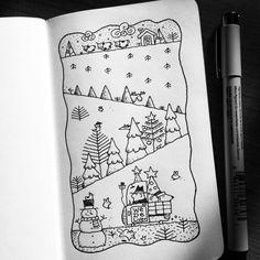 Dave Garbot — A Delivery #illustration #drawing #penandink...