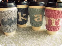 Quick and Basic Coffee Cozy by Andrea Piernock