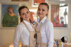 Alexandra si Alexandra vă așteaptă cu multe zâmbete la Trattoria Pocol! Twin. Names. Friend. Coworker. Staff.