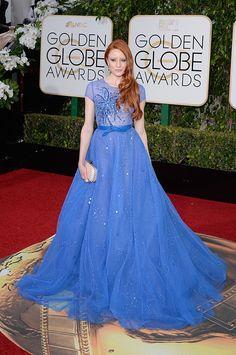 Barbara Meier at The Golden Globes 2016