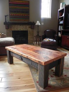 Coffee Table by Against the Grain Studio, via Flickr