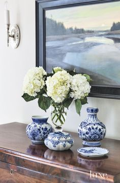 Traditional Foyer Deltware Accents