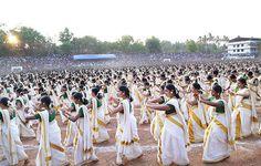 Video: Watch mesmerising largest Kaikottikali dance record attempt in India