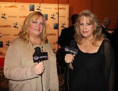 Roni von Henschen, Kelly Bennett, Backstage Movieguide Awards Gifting Suite