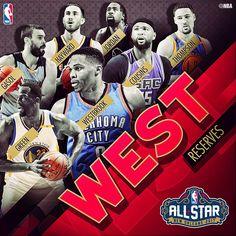 nba allstar2017 west reserves