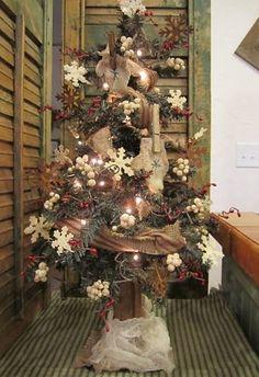 Snowflake and Mitten Tree | Gatherings at Muncy Creek Barn Works