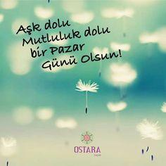 Aşk dolu Mutluluk dolu bir Pazar Günü Olsun!