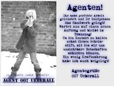 Überall & Nirgendwo: Agentengeburtstag......the whole story! Teil 2