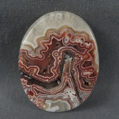 Love this Crazy Lace in Quartz! Nature is amazing!! Check this one and more out here http://www.azbluerockers.com/crazy-lace-agate