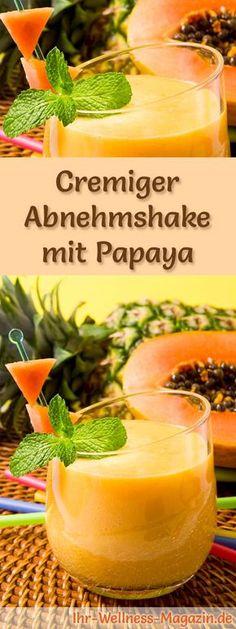 Abnehmshake mit Papaya, mit oder ohne Eiweiß und weitere leckere Abnehmshakes, Eiweißshakes & Smoothies zum selber machen ...