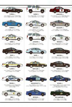 Modelos de móviles policiales USA en la actualidad II