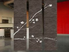 Creative Japanese Style Soto Hanging Room Divider