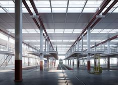 Visualizations for the competition entry by Boltshauser Architekten: the new depot building RBS in Bätterkinden. The project made it to the rank. Image 3d, New Image, 3d Architectural Visualization, New York, Animation, Competition, Architecture, Building, Projects