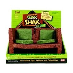 $10.27-$12.99 eCOTRITION Snak Shak Large Couch - Guinea Pig/Rabbit - 3-in-1 treat, chew and hideaway http://www.amazon.com/dp/B000WMJW32/?tag=pin2pet-20