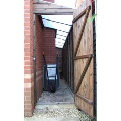 Image result for what to do with a narrow side alley way