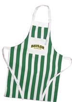 This striped #Baylor apron is perfect for the Bear who loves to cook or grill!