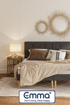 Upgrade your bedroom now with Emma Sleep! Try risk free for 100 nights + free deliveries Lego Room Decor, Small Apartment Interior, Home Decor Bedroom, Bedroom Ideas, Aesthetic Room Decor, Reno, New Room, Home Decor Inspiration, Decoration