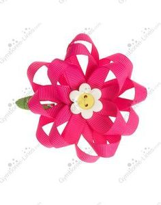 NWT Gymboree Showers of Flowers Ribbon Flower Hair Clip - 1 available - $8