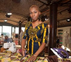 Interview with Chinelo from The Great British Sewing Bee