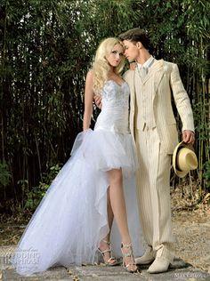 ~ Uma Linda Promessa ~: Vestidos de Noiva Mullet                              …