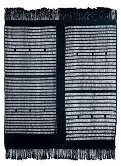 kpokpo cloth (country cloth), Sierra Leone - indigo dyed