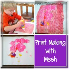 Squeegee Painting: Easy and Fun Process Art for Kids - My Nearest And Dearest