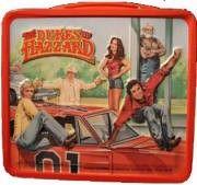 Dukes of Hazard Vintage Retro Lunch Boxes