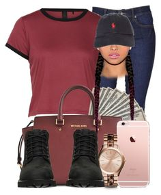 A fashion look from November 2015 by dope-ass-liyah featuring Dr. Denim, Michael Kors, Timberland and Polo Ralph Lauren Cute Sporty Outfits, Dope Outfits, Swag Outfits, Fall Outfits, Summer Outfits, Casual Outfits, Dope Fashion, Urban Fashion, Teen Fashion
