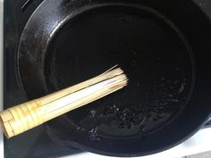 How to Clean a Cast Iron Pan by Frugal Allergy Mom