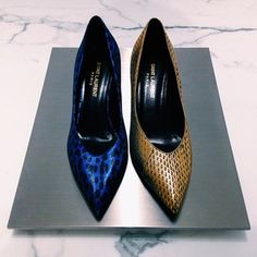 Let's get right to the point. #saintlaurent #perfectpairs