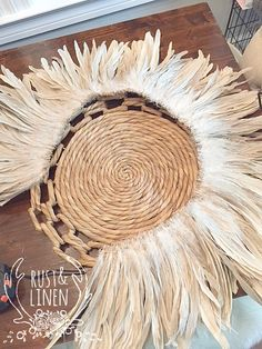 Rust & Linen: DIY African JUJU Hat Tutorial