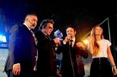Alan Sorrenti riceve il FIM Award. Con Verdaino Vera, il conduttore Francesco Ugolini e Miss Musica Italia Sara Tortello. #FIM #Fieradellamusica #Musica #Musicisti #Band #fimawards #premiomusicale #fierainternazionaledellamusica #strumentimusicali #scuoledimusica #etichettediscografiche #fimfiera