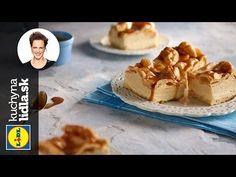 Mraky so slaným karamelom - Adriana Poláková - recepty kuchynalidla. Lidl, Food Videos, French Toast, Pudding, Breakfast, Youtube, Desserts, Morning Coffee, Tailgate Desserts