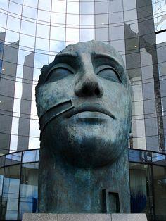 Greater Paris - La Défense - Tindaro - Designed By Igor Mitoraj - France Tour Eiffel, Paris Secret, Merci Paris, Art Sculpture, Visit France, I Love Paris, Public Art, Public Spaces, Effigy