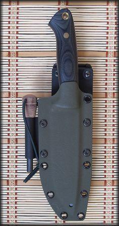 My knife Blade by www.berenyikesek.hu Sheath by Croc