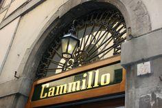 Cammillo's Tratoria in Florence <3