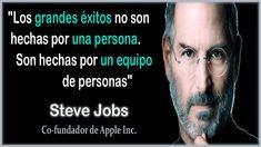 Frase de Steve Jobs del equipo y exito