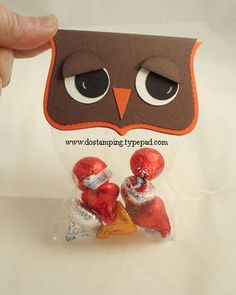October 09, 2008  Tech Tues Bonus - Big Shot Owl Treat Bag - top note die