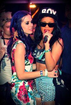 Katy Perry & Rihanna