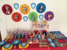 Complete paw patrol party package