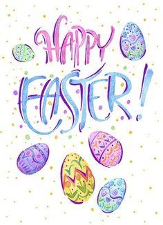 Happy Easter (pastel)