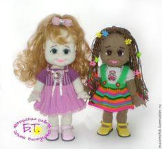 Купить Мастер-класс по изготовлению кукол Элси и Эльза. - авторская ручная работа, авторское описание