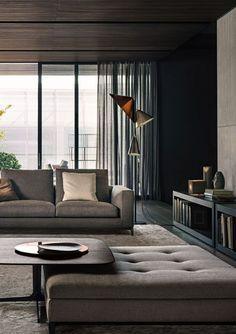Living Room Interior Design By Minotti