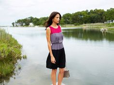 Colorblock Dress by Taylor from Veronica Webb on OpenSky