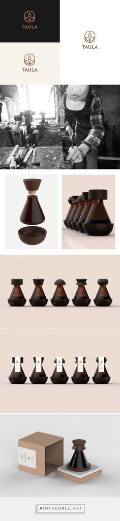 TAULA Flower Essential Oil packaging design concept by Krisztina Németh - http://www.packagingoftheworld.com/2017/08/taula-flower-essential-oil-concept.html
