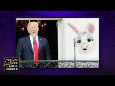 The White House Easter Bunny Said it All The Late Late Show, Satire, Easter Bunny, Facebook, Funny, Cirque Du Soleil, Funny Parenting, Hilarious, Fun