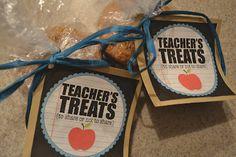 Teacher's Treats for Teacher Appreciation Week!
