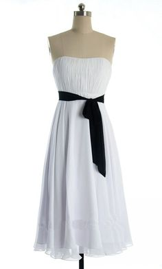 Kingbridal Women's Strapless Chiffon Short Junior Gowns Bridesmaid Dresses -- Discover this special product, click the image : Bridesmaid Dresses